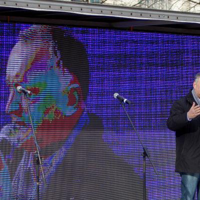 Socialistpartiets proryska ledare Igor Dodon vann första omgången i Moldaviens presidentval
