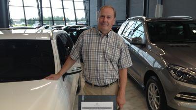 Sune Nordlund säljer bilar på Käyttöauto i Karleby
