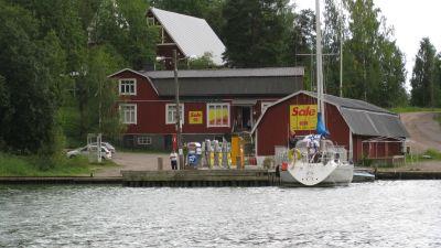 Barösundsbutiken Gammelboden.