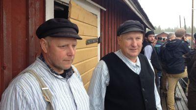 Ulf Rönnblad och Britwin Tony har många postroddar bakom sig.