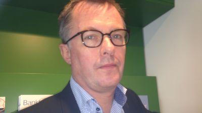 Johan Hansing, chefsekonom på Bankföreningen.