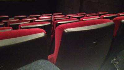 Stolrader i biografsalong
