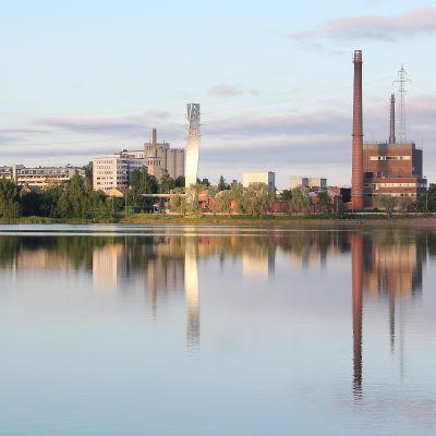 Vasa elektriskas kraftverk i Vasa.