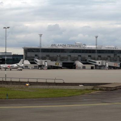 Terminal 2 Arlanda.