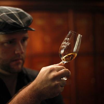 Bild från en whiskyfestival i Sydafrika.