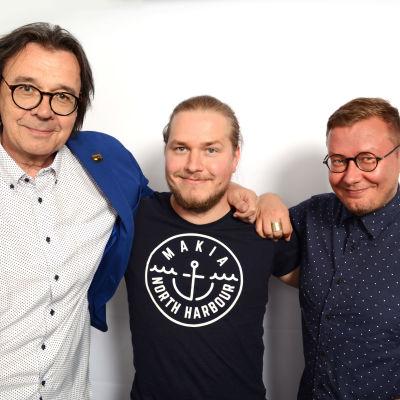Seppo Tammilehto, Ville Tiirikainen ja Ville Vedenpää