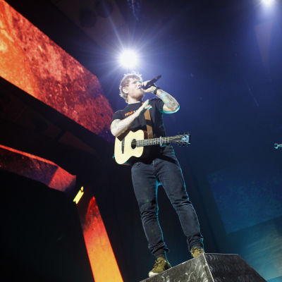 Ed Sheerans ÷ Tour i Madrid 2017