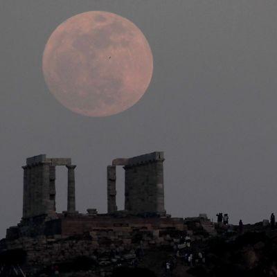 Poseidontemplet i Aten 5.5.2012