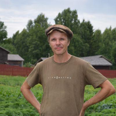 Trädgårdsterapi tycks ha gjort Jan Liesiaho gott.