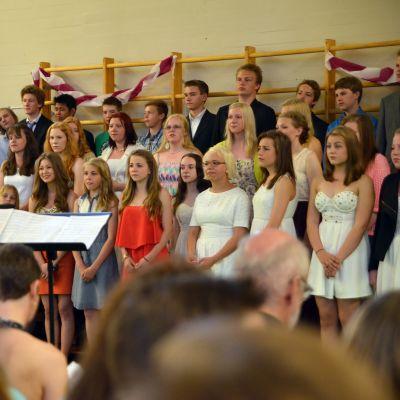 Vårfest i Winellska skolan, juni 2013.