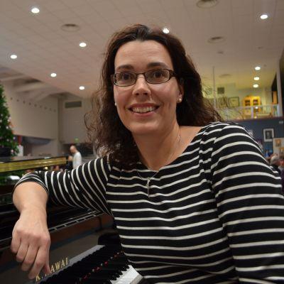 Musiikinopettaja Minna Salmela