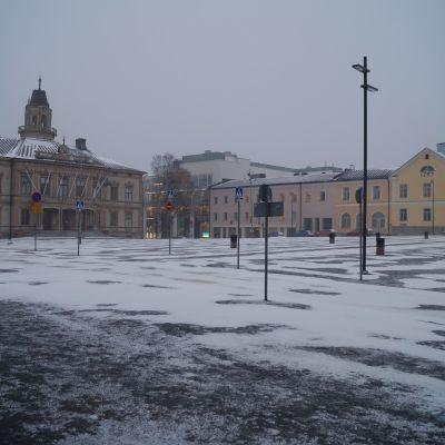 Torget i Jakobstad.