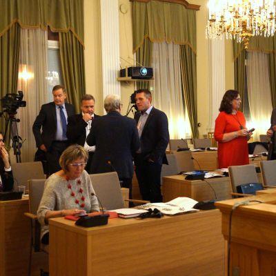 Stadsfullmäktige i Jakobstad.