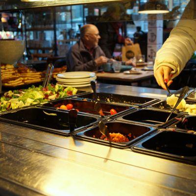 Lunchrestaurang i Jakobstad.