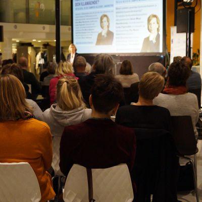 Seminarium om droger och välmående i Jakobstad.