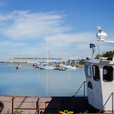 Hamnen i Kaskö.