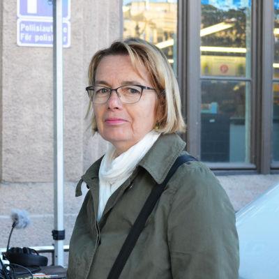 Gunilla Holm, professor vid Beteendevetenskapliga fakulteten vid HU