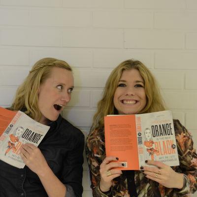 Isa och Pernilla i månadens bokklubb