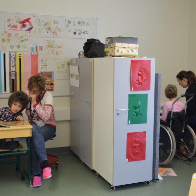VOM-klassrummet i parkskolan