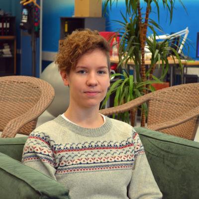 Nina Järviö från Kvinnosaksförbundet Unionen.