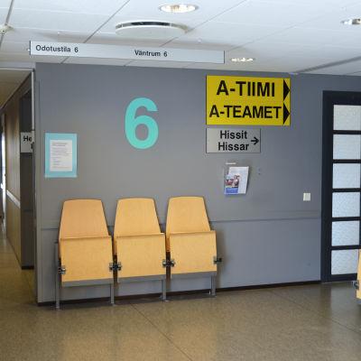 Vårdcentral i Myrbacka i Vanda