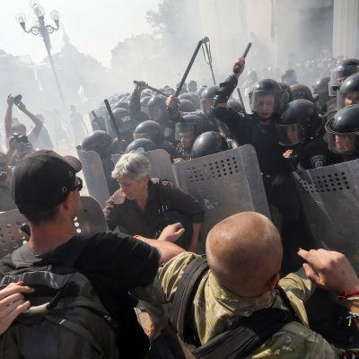 Sammandrabbning i Kiev