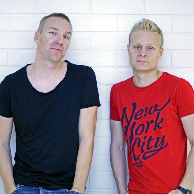 Marko Saaresto och Olli Tukiainen från Poets of the Fall