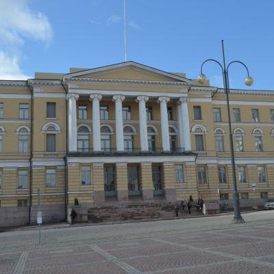 Huvudbyggnaden vid Helsingfors universitet