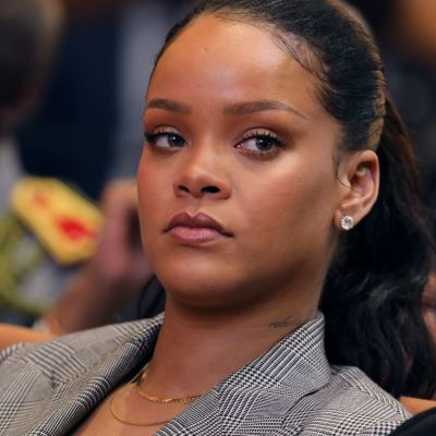 Popstjärnan Rihanna.