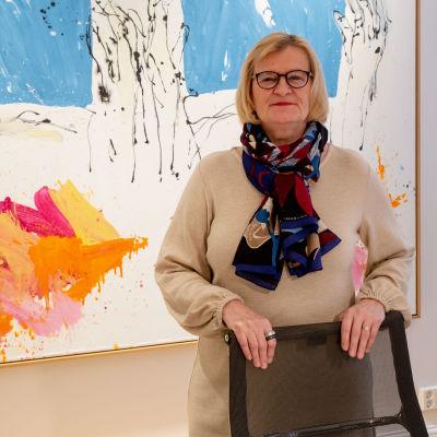 Teknologiindustrins ordförande Marjo Miettinen