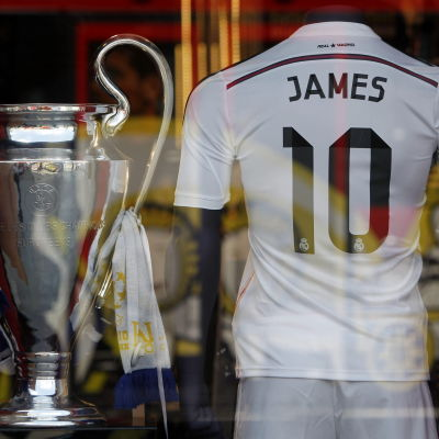 James Rodriguez fotbollsskjorta