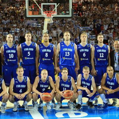 Finlands landslag i VM 2014.