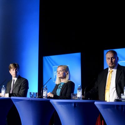 Sannfinländarnas partidebatt