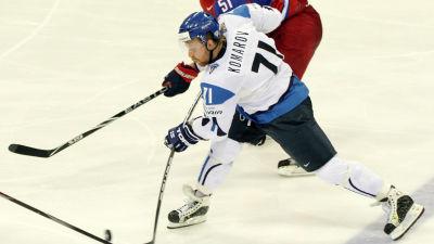 Leo Komarov, hockey-VM 2011