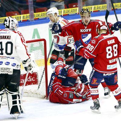 HIFK slog JYP med 4-1.