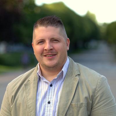 Mathias Lindström, direktör på Kvarkenrådet