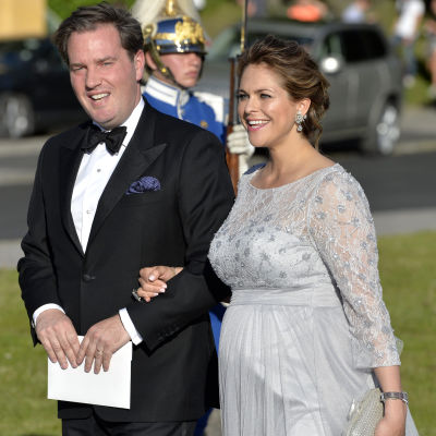 Prinsessan Madeleine och Christopher O'Neill