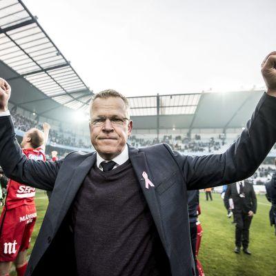 Janne Andersson gjorde succé med IFK Norrköping i fjol.
