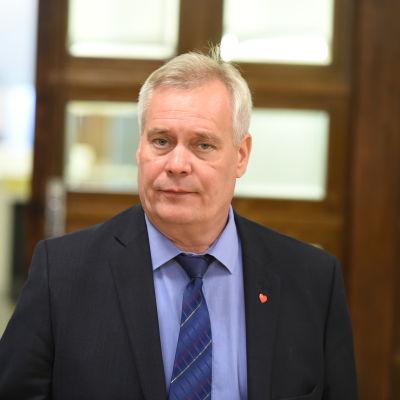Riksdagsledamot Antti Rinne