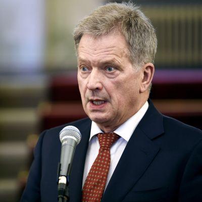 President Sauli Niinistö