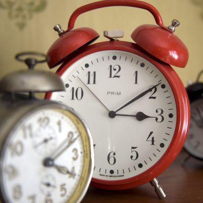 Mekaniska väckarklockor