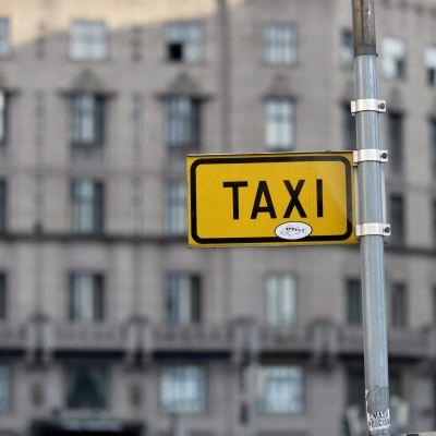 Taxiskylt