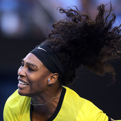 Serena Williams är världens bästa spelare på damsidan.