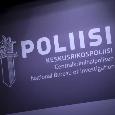 Centralkriminalpolisens logo.