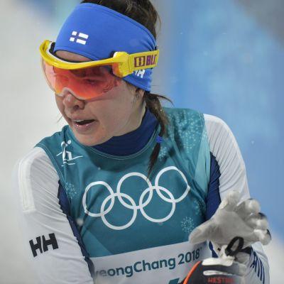 Kerttu Niskanen har inte lyckats på OS så här långt.
