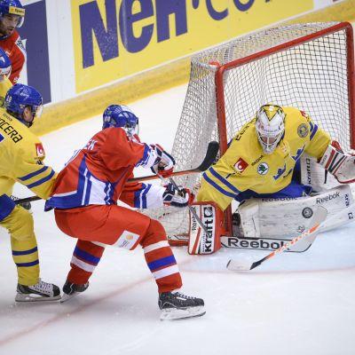 Sverige spelar mot Tjeckien.