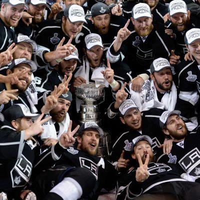 Los Angeles Kings vann Stanley Cup i våras.