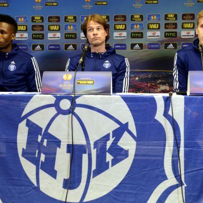 HJK är redo för att besegra FCK på hemmaplan.