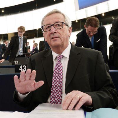 EU-kommissionens ordförande Jean-Claude Juncker i Strasbourg den 26 november 2014.