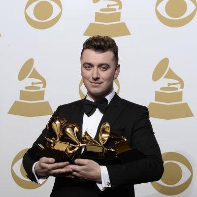 Sam Smith var storvinnare på Grammygalan 2015
